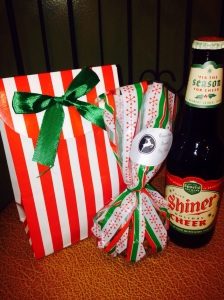 Beer Bread mix and dog treats gift set for the lovely neighbors